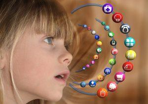 Mädchen, Kind, Apps