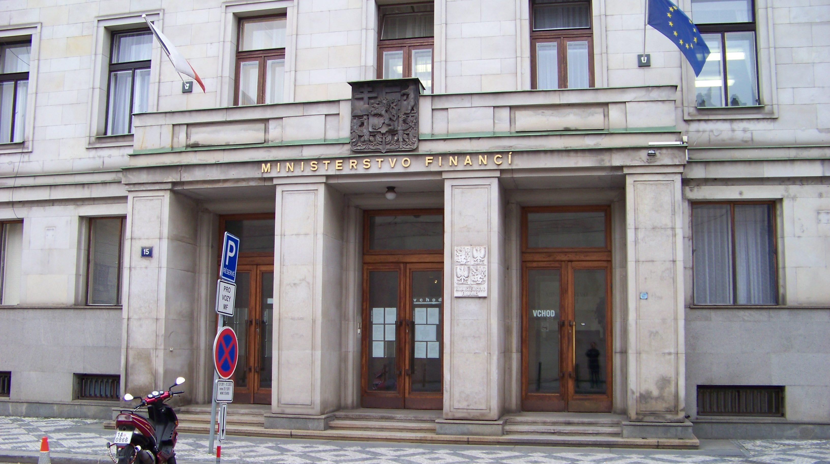 Tschechisches Finanzministerium in Prag