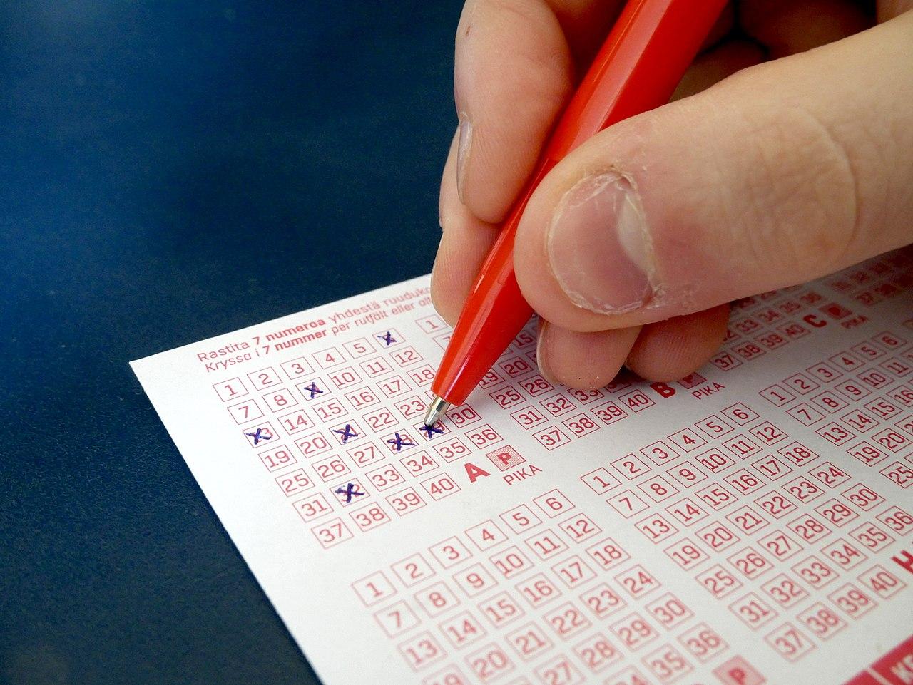 Lottozettel