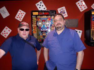 Pokerspieler Marc und Jan