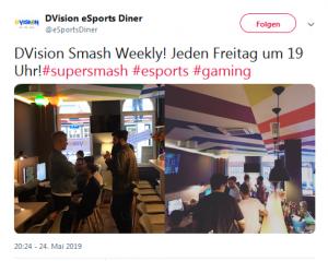 Twitter Post Super Smash Bros. Turnier