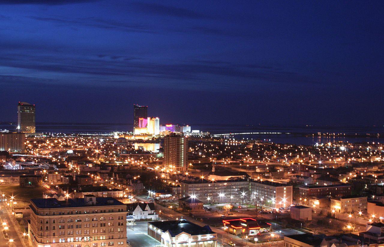 Atlantic City bei Nacht