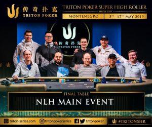 Final Table des NLH Main Event