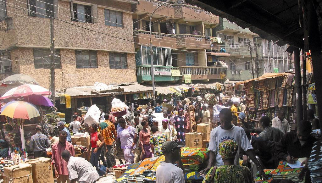 Markt Lagos Nigeria