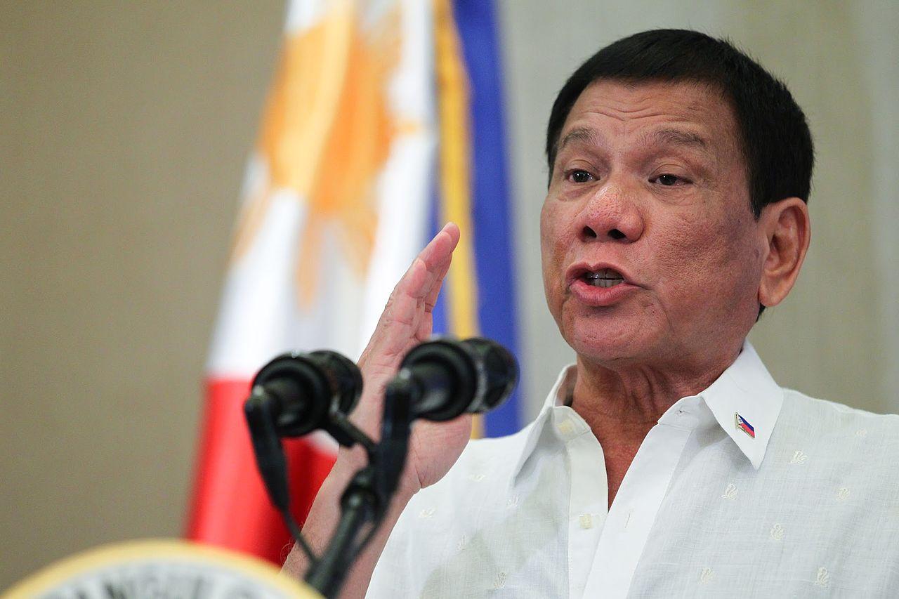 Präsident Duterte