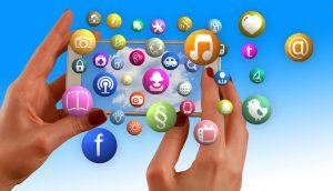 Hände, Social Media