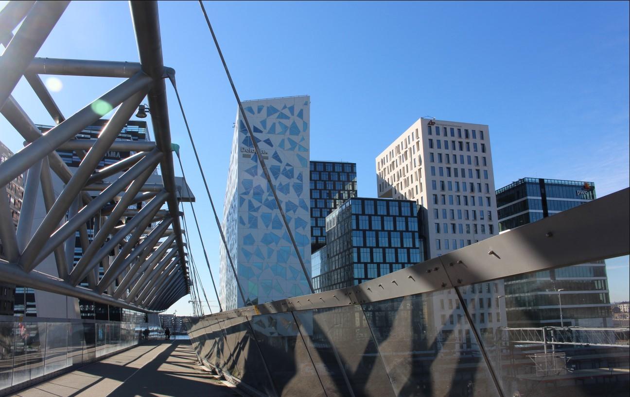 KLP Oslo Brücke