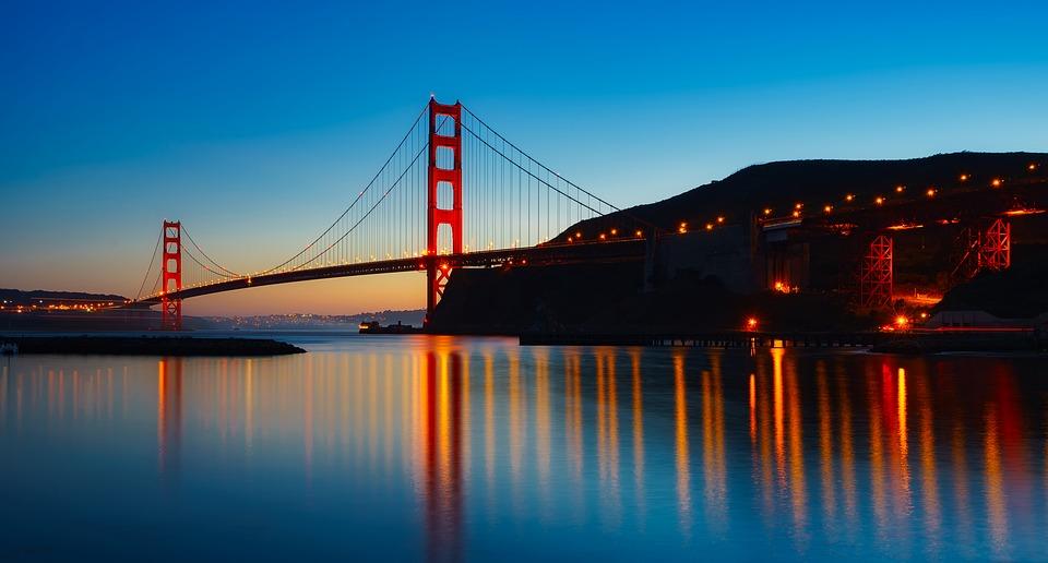 Golden Gate Bridge Kalifornien