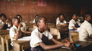 Schulkinder Afrika