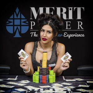 Melika Razavi, Poker