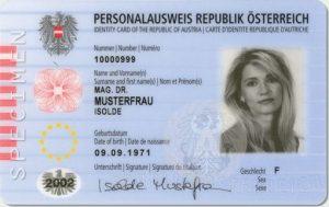 Österreichischer Personalausweis