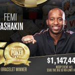 WSOP 2019 Big 50: Femi Fashakin gewinnt das größte Pokerturnier aller Zeiten
