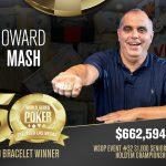 WSOP 2019: Howard Mash gewinnt das Seniors Event