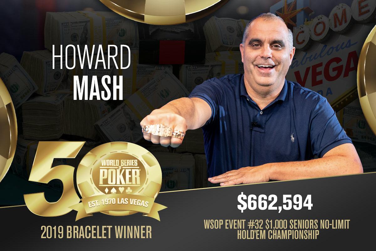 Howard Mash, WSOP Bracelet Gewinner