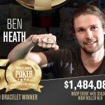 WSOP 2019: Ben Heath aus Großbritannien gewinnt das $50.000 High Roller Event