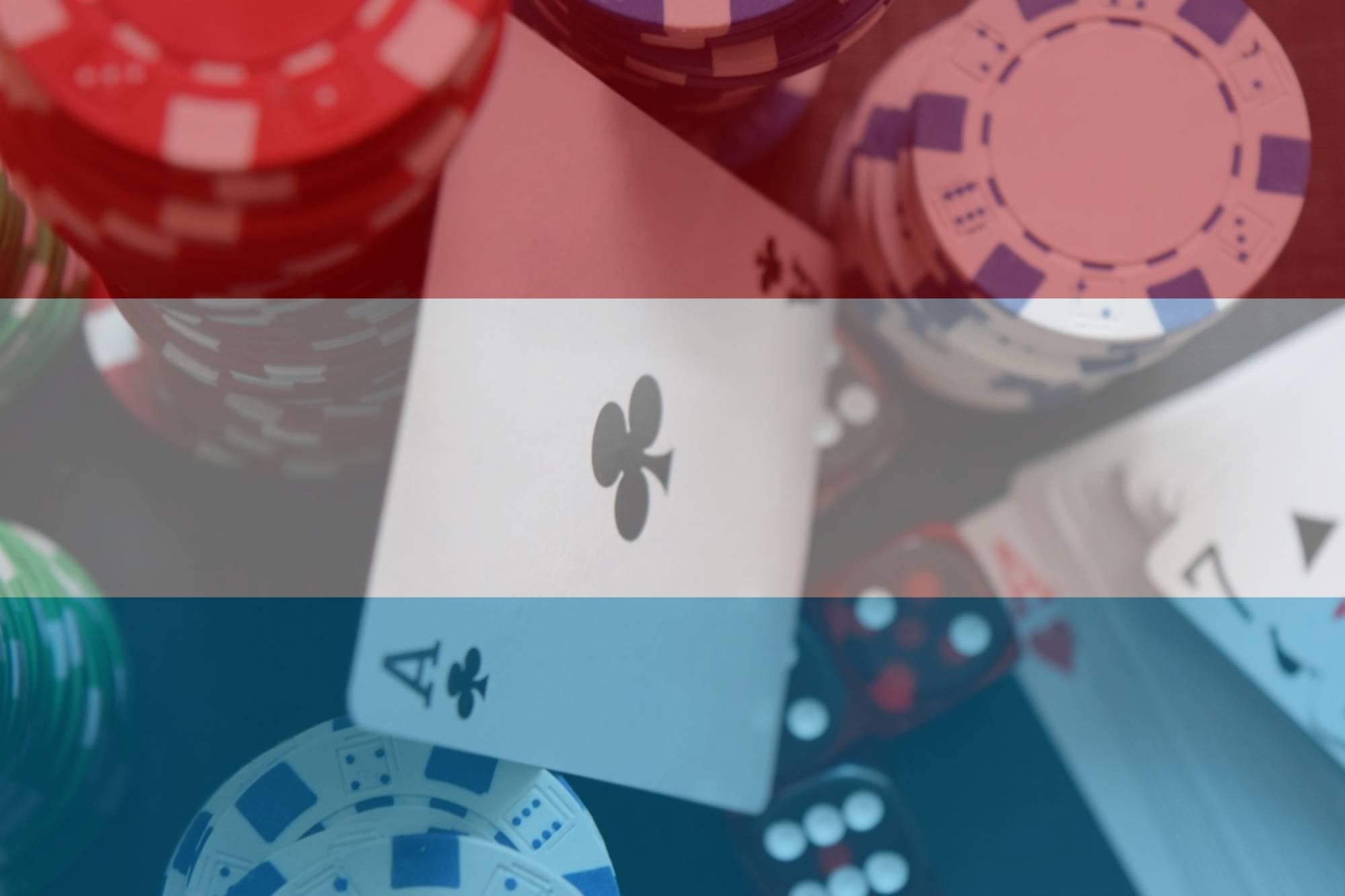 Niederlande Flagge Spielkarten Würfel Jetons