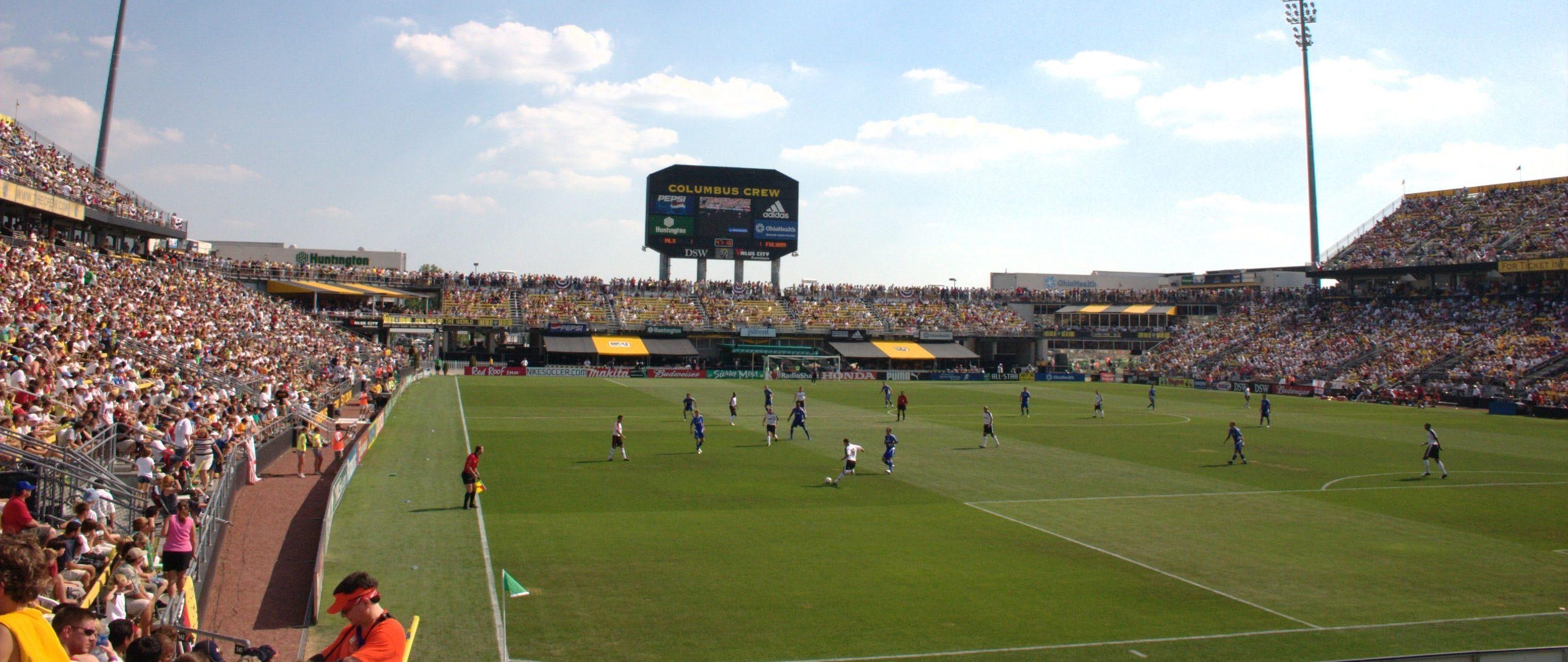 Columbus Crew Stadion im Jahre 2005