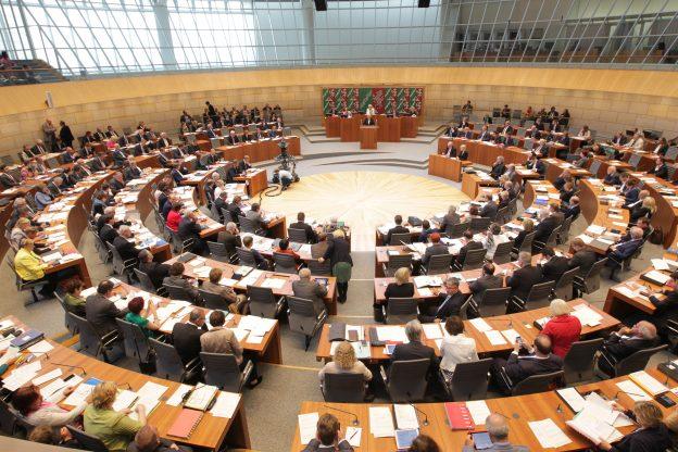 Landtag Nordrhein-Westfalen Plenarsaal