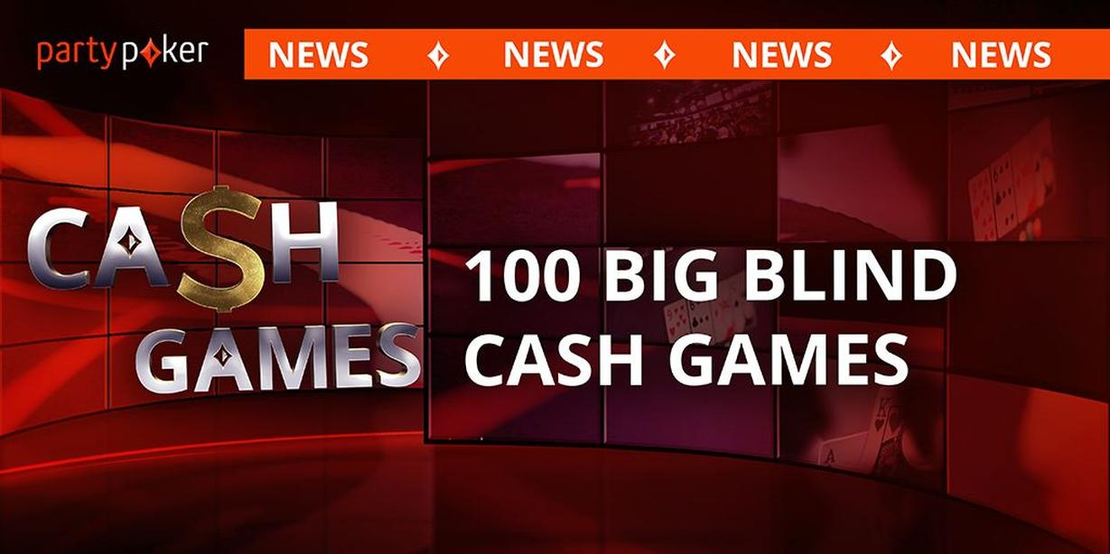 Header PartyPoker 100 Big Blinds Buy-in