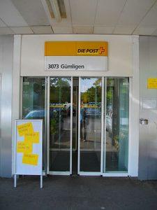 Postfiliale Schweiz Gümligen