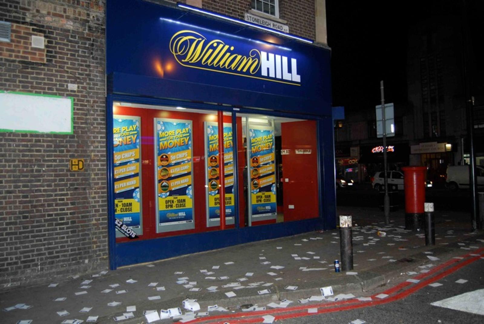 William Hill, Wettbüro