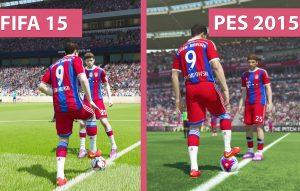 FIFA PES Spielszene