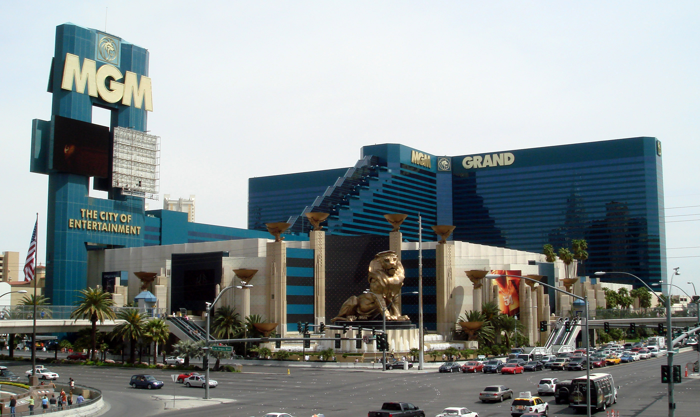 MGM Grand Hotel bei Tag