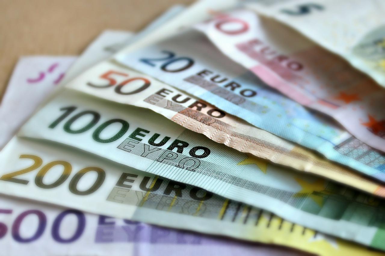 Banknoten, Euro