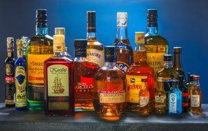 Flaschen, Alkohol
