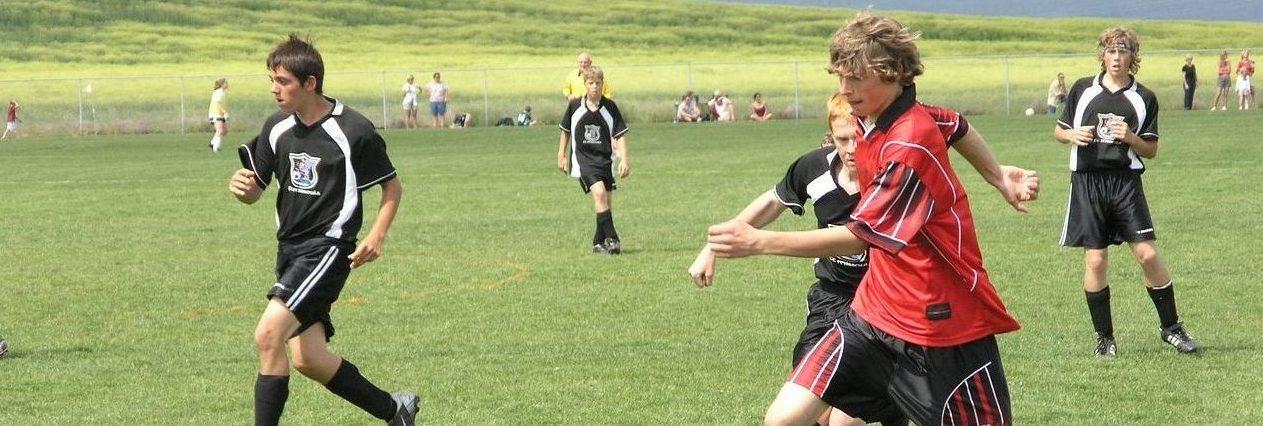 Jugendliche Fußball