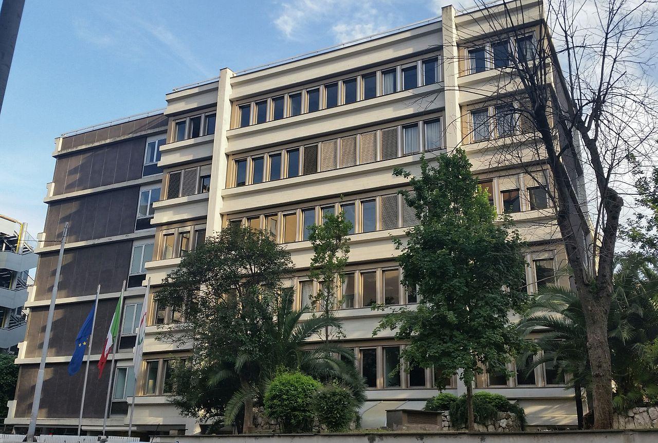 AGCOM Zentrale in Rom