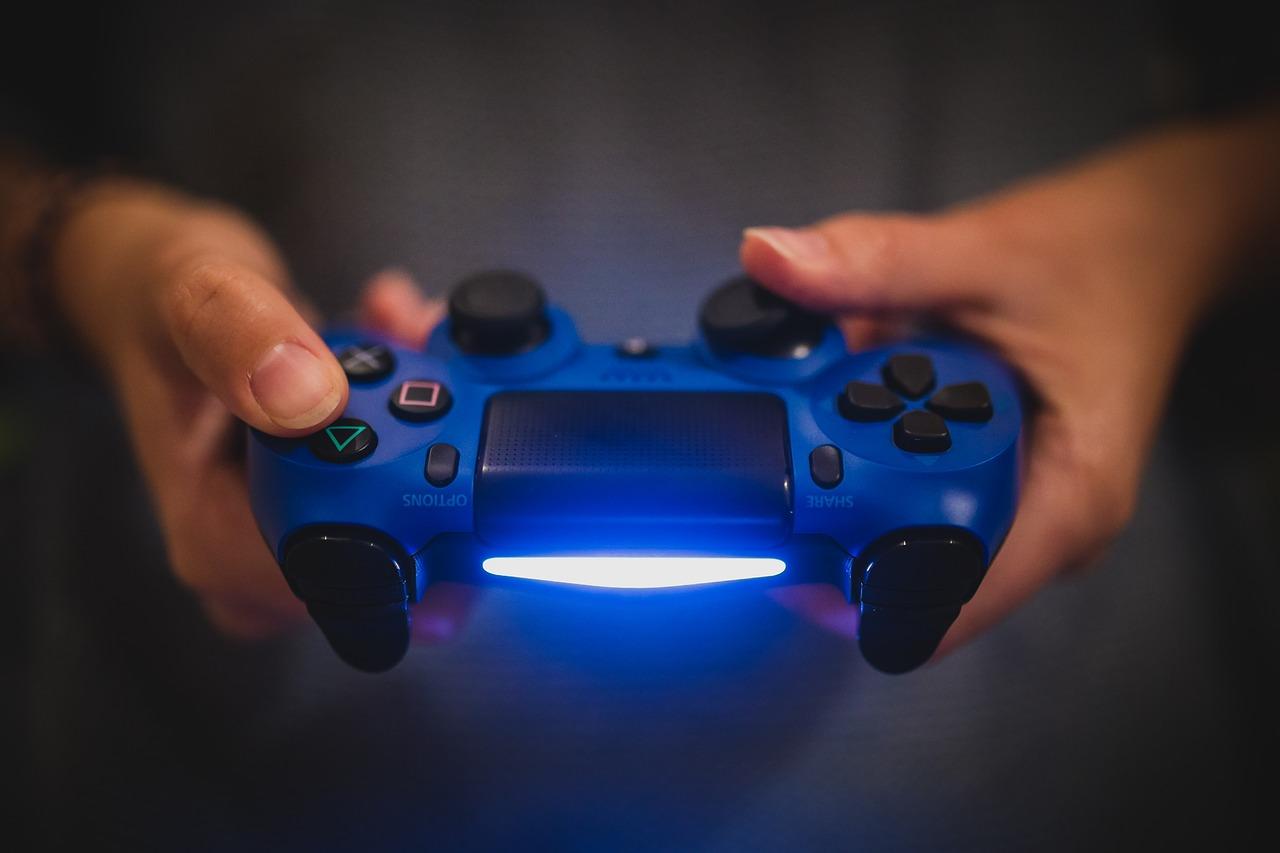 Controller, Hände, Videospiel