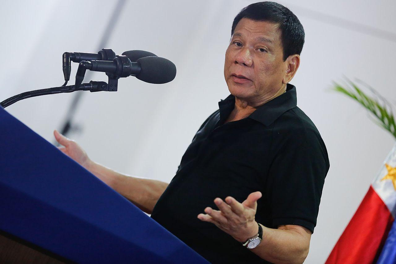 Rodrigo Duterte, Präsident Philippinen