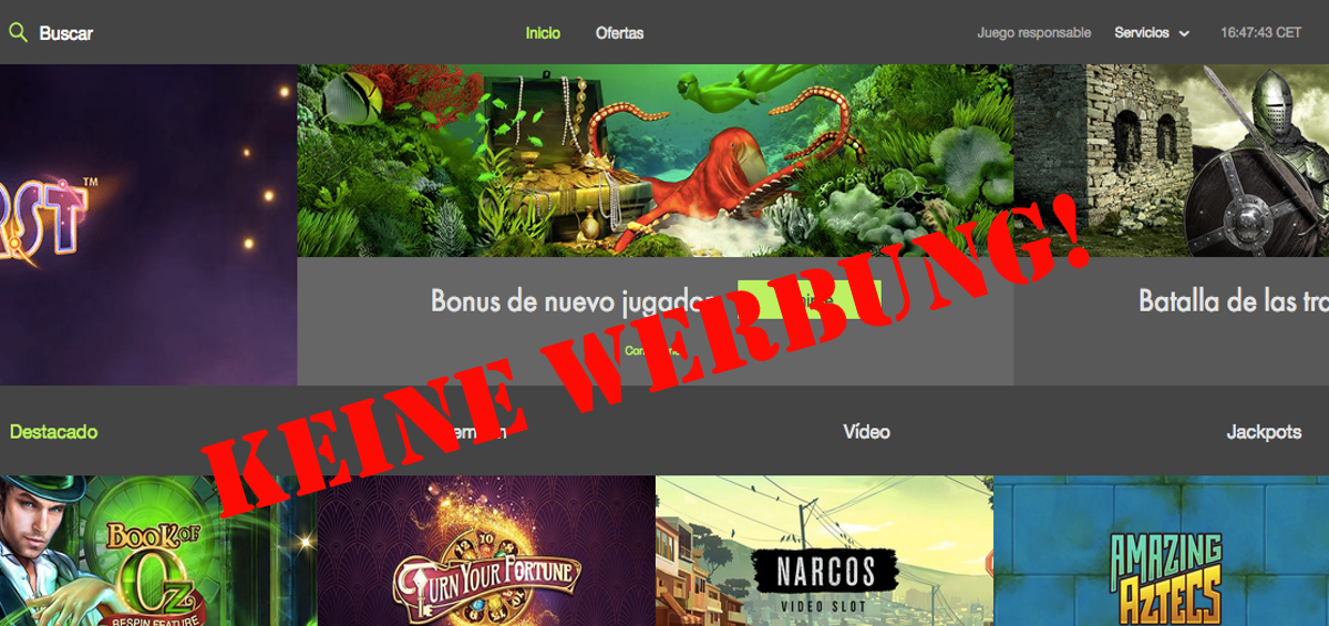 Online Casino Spanien