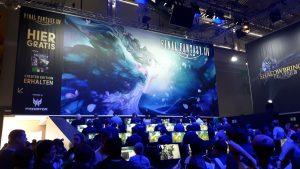 Monitor, Final Fantasy, Spieler, Gaming