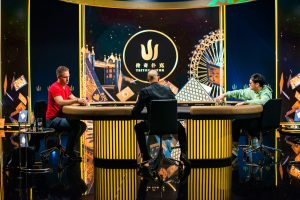 Justin Bonomo und Wai Kin Yong, Heads-up Poker