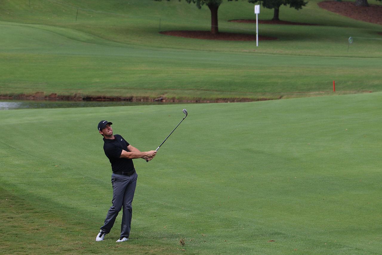 Rory McIlroy auf dem Grün
