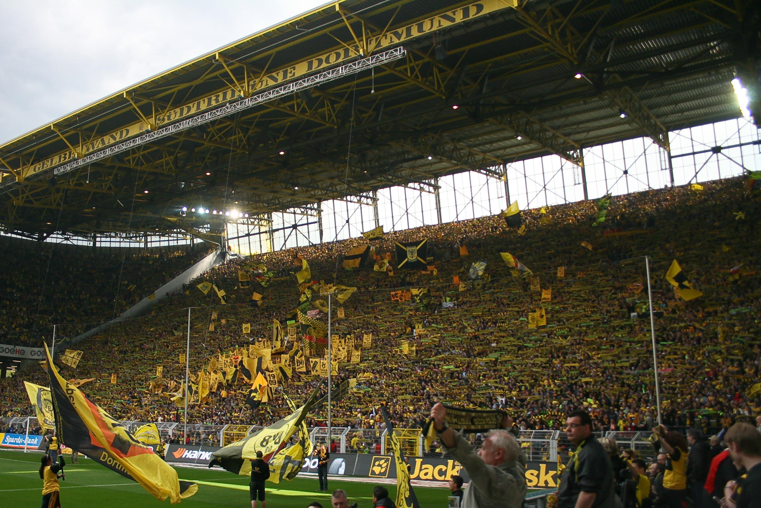 Südtribüne in Dortmund