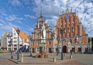 Riga, Altstadt, Häuser, Gebäude