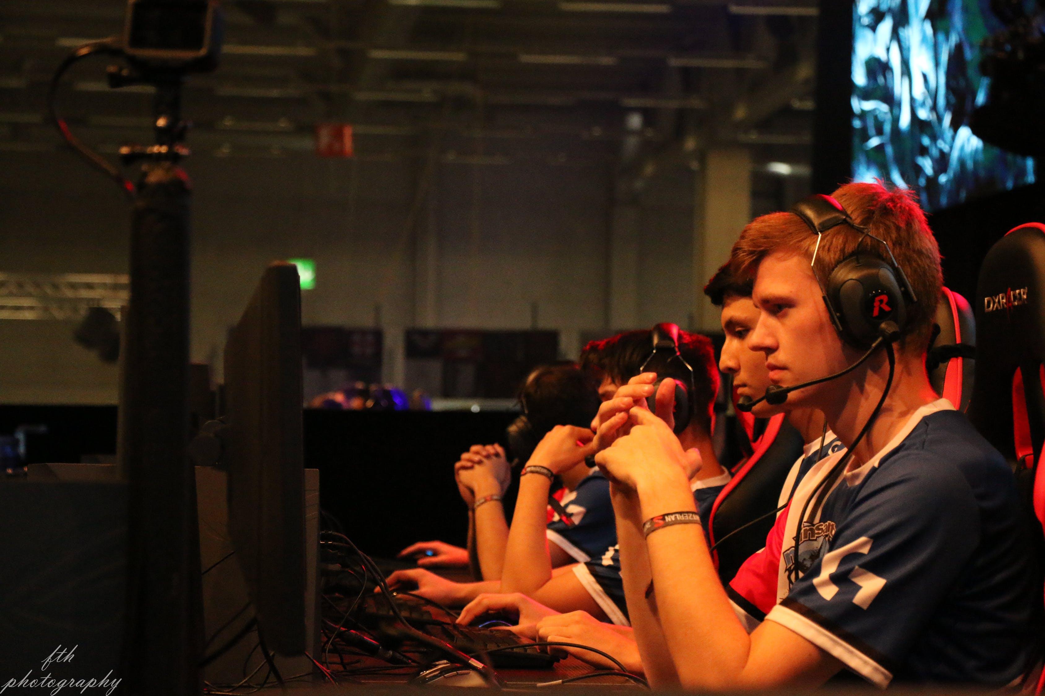 eSports Spieler im Turnier