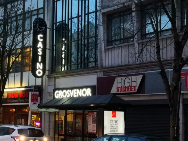 Grosvenor Casino Außenansicht