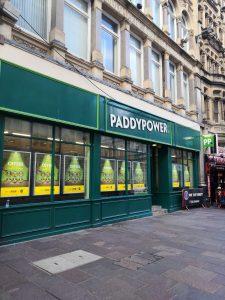 PaddyPower Wettbüro von außen