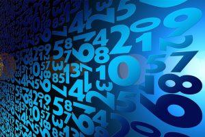 Symbolbild Zahlen Computer