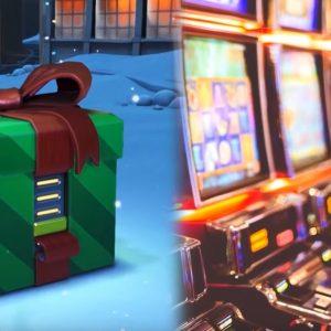 Geschenkbox, Spielautomaten, Lootbox