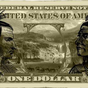 Indianer, USA, Dollar