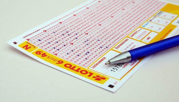 Lotterieschein, Lotto 6aus49, Lottoschein