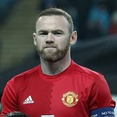 Wayne Rooney im Trikot voon Manchester United