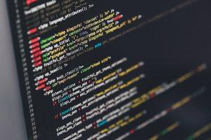 Der Code eines Computer-Programms
