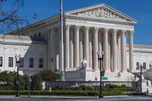 US Supreme Court Gebäude von außen