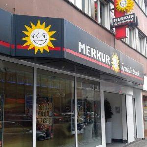 Merkur Spielothek von außen